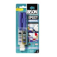 BISON Epoxy Metal Adeziv bicomponent universal, 2x12ml