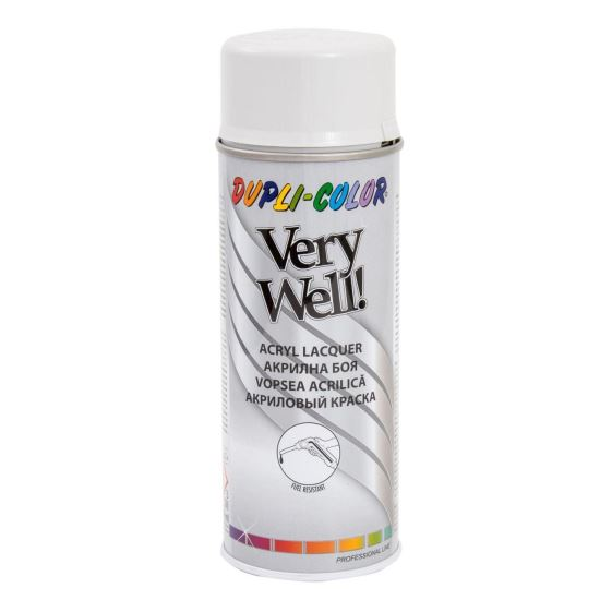 VERY WELL Vopsea spray decorativă, gri deschis, RAL7035, 400ml