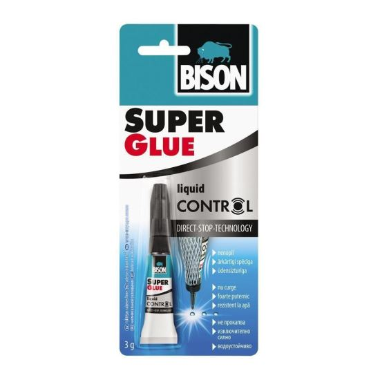 BISON Super Glue Control 3g bl.