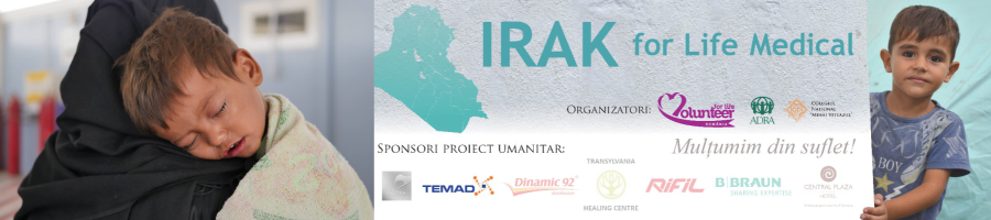 "Expediție umanitară ""Irak for Life Medical"""