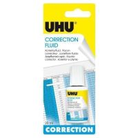 UHU Correction Fluid, Pen and Roller