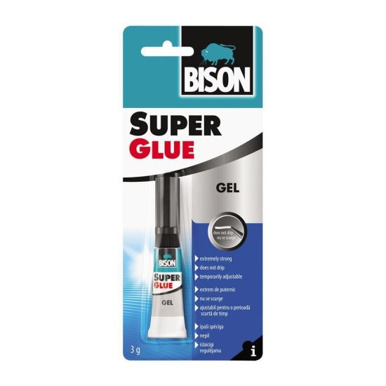 BISON Super Glue Gel Adeziv cianoacrilat
