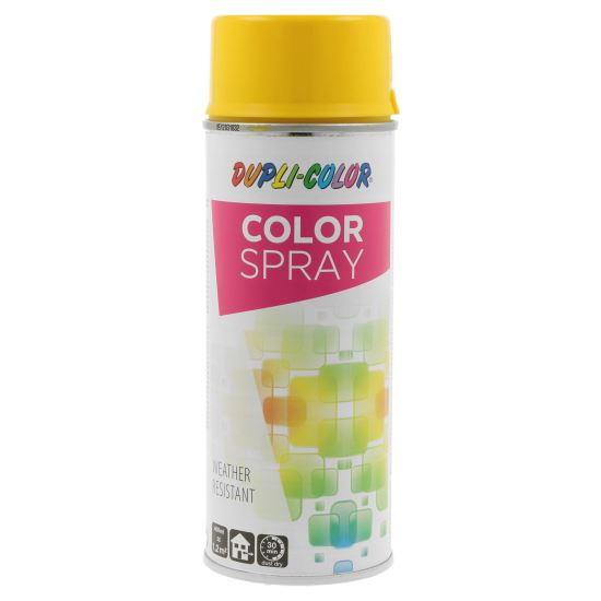 COLOR SPRAY Vopsea spray decorativă, galben lucios, RAL1021, 400ml