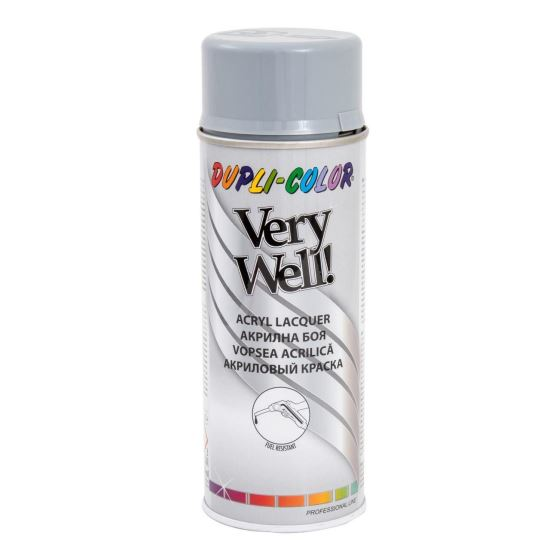 VERY WELL Vopsea spray decorativă, gri deschis, RAL7001, 400ml
