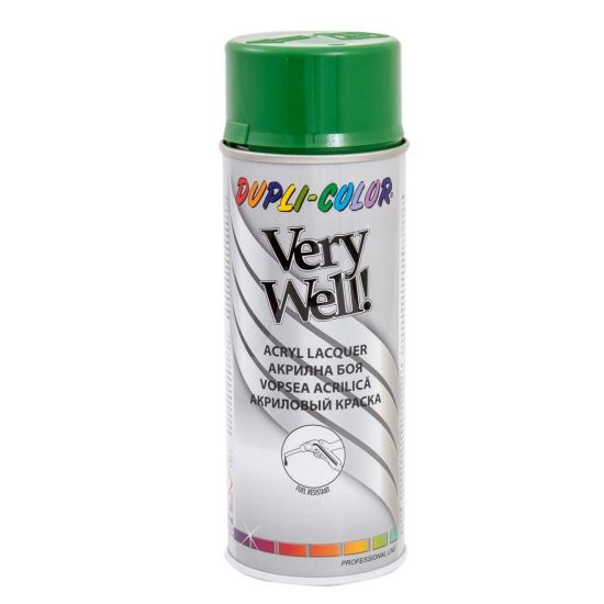 VERY WELL Vopsea spray decorativă, verde smarald, RAL6001, 400ml
