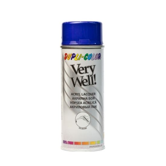 VERY WELL Vopsea spray decorativă, albastru marin, RAL5002, 400ml