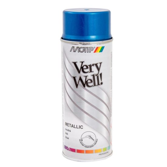 VERY WELL Vopsea spray decorativă metalizată, 400ml