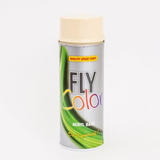 FLY COLOR Vopsea spray decorativă, bej, RAL1014, 400ml