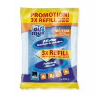 BISON Air Max Set rezervă absorbant umiditate, 3x450g