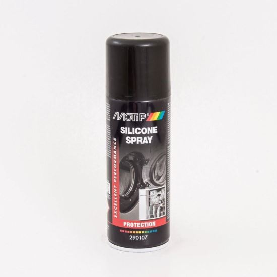 MOTIP Silicone Spray transparent pe bază de silicon