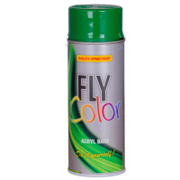 FLY COLOR Vopsea spray decorativă, verde RAL6029, 400ml