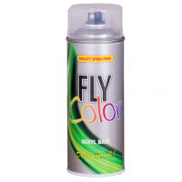FLY COLOR Vopsea spray decorativă lac lucios, 400ml